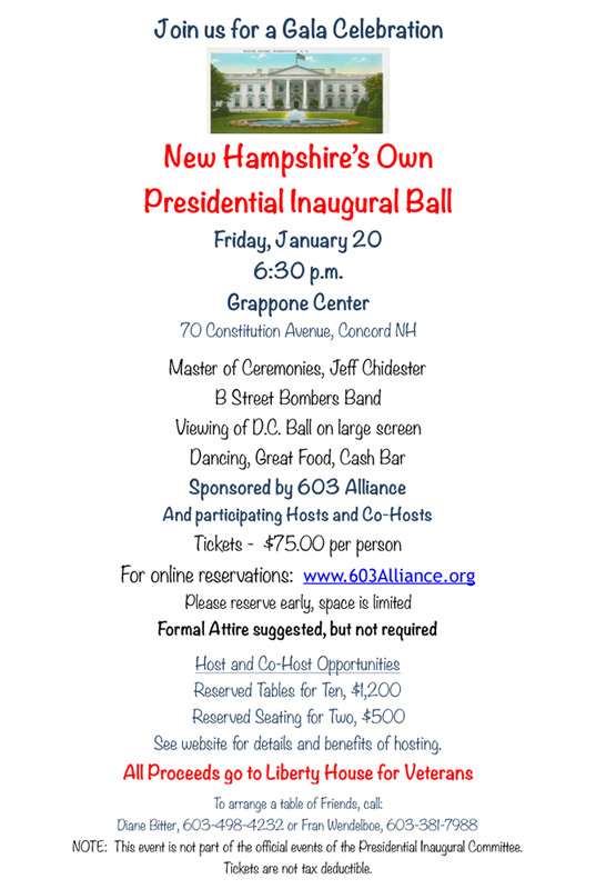 New Hampshire's Inaugural Ball
