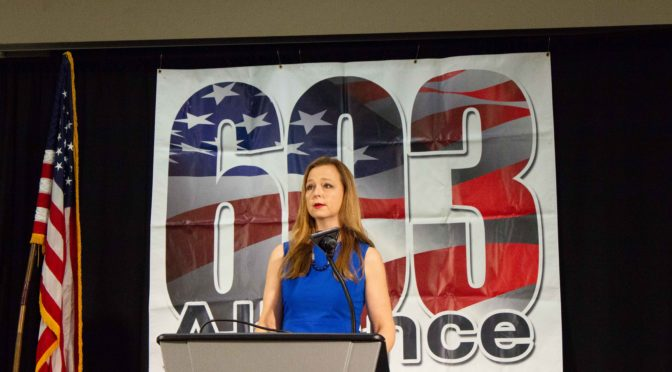 Jenny Beth Martin of the Tea Party Patriots