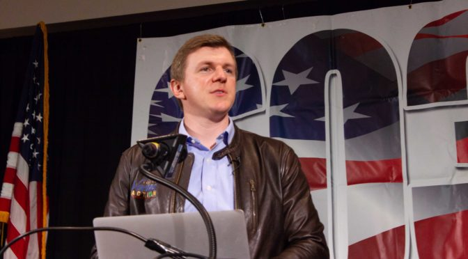 603 Dinner Keynote Speaker – James O'Keefe